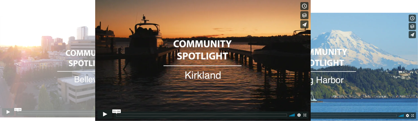 John L. Scott Community Spotlight Videos and Area Searches - Section Image
